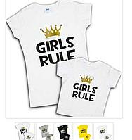 "Футболки ""Girls Rule"""
