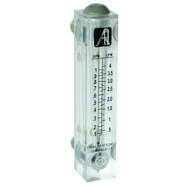 Ротаметр панельного типа модели FM-1 (0,1-1GPM)
