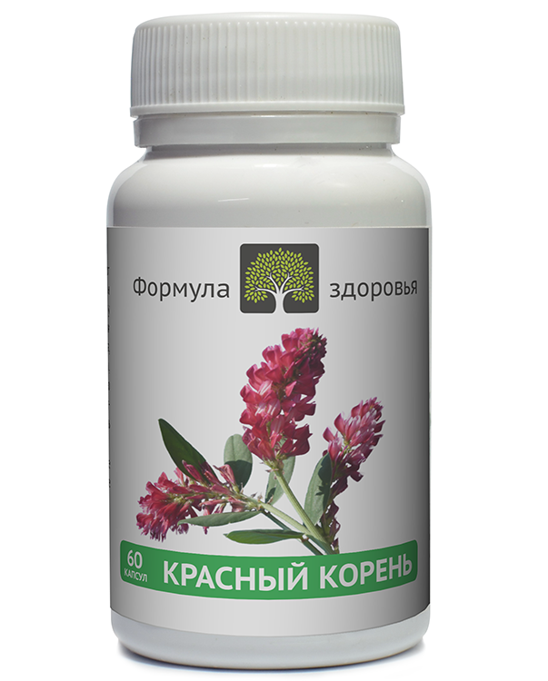 ФитоАктив Красный корень, 60 капсул