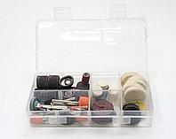 Набор шлифовальных насадок для гравера 105 предметов в ластиковой коробке