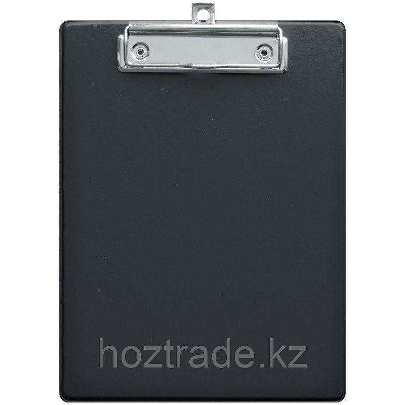 Планшет с зажимом OfficeSpace A5, ПВХ, черный