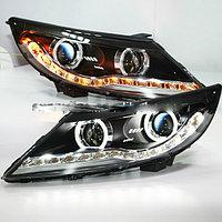 Передние фары KIA SPORTAGE R LED Angel Eyes Head Lamp V3 type 2011-2012