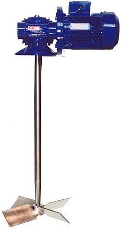 Смеситель-мешалка ПВХ, 600 мм, 1400об/мин. (бак 100л), фото 2