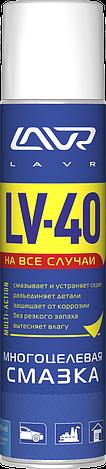 Многоцелевая смазка LV-40 LAVR Multipurpose grease LV-40 400 мл (аэрозоль), фото 2
