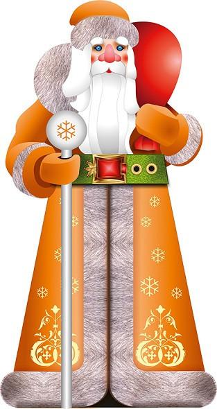 Большая надувная фигура Дед Мороз