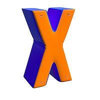 Надувная фигура Икс мини для пейнтбола