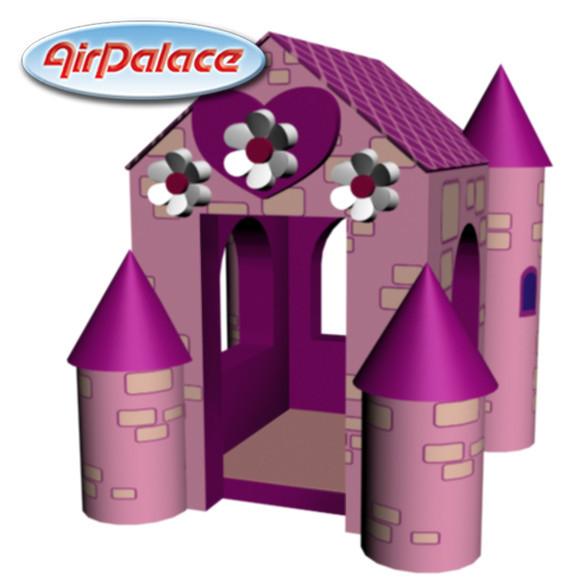 Домик принцессы - мягкий игровой для девочек