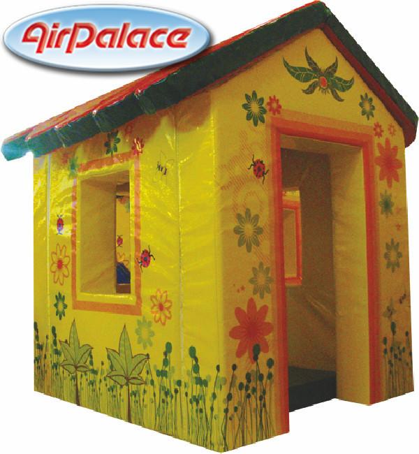 Лесная избушка - мягкий игровой домик для детей