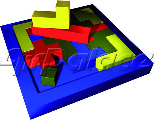 Эрудит - мягкая детская головоломка