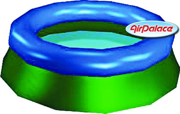 Надувной бассейн дачный мини