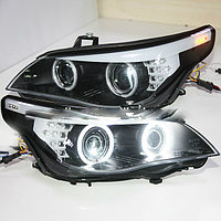 Передние фары E60 523i 525i 530i Head Light CCFL Angel Eyes 2003-2005