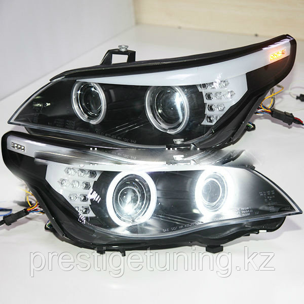 Передние фары E60 523i 525i 530i Head Light CCFL Angel Eyes 2007-2010