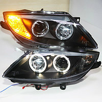 Передние фары E85 Z4 Head Lamp Angel Eyes 2003 to 2008