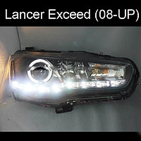 Передние фары Lancer Angel Eyes Sonar Type 2008-2013