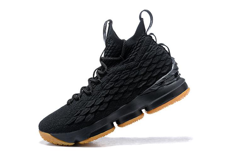 """Баскетбольные кроссовки Nike Lebron 15 (XV) from LeBron James """"Black"""""""