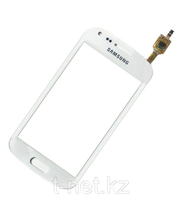 Сенсор Samsung Galaxy S Duos S7562, цвет белый