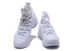 "Баскетбольные кроссовки Nike Lebron 15 (XV) from LeBron James ""white"", фото 2"