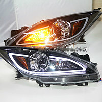 Передние фары 3 LED Head Lights with Bi Xenon projector Lens 2010-2014 year