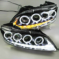 Передние фары Mazda 6 LED Head Lamp Angel Eyes 2004 to 11