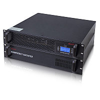 "EH 5110 MUST 19"" rack on-line UPS 2000VA LCD RS232 RJ45 battery: 12V7AH*8"
