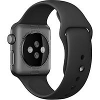 38mm Black Sport Band with Space Gray Stainless Steel Pin
