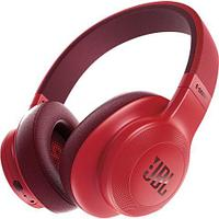 Bluetooth, the range of 10 m, battery operation 20 hours ambyushury leather, foldable design, the speakers 55 mm Red