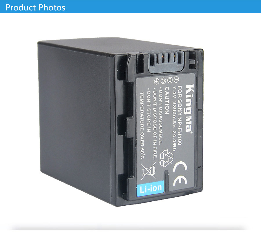 NP-FH100. Аккумулятор KingMa для фото/видео Sony