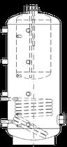 Бак ВТА/Н-1 500/115 л