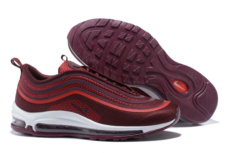 Кроссовки Nike Air Max 97 Ultra '17 Noble Red White
