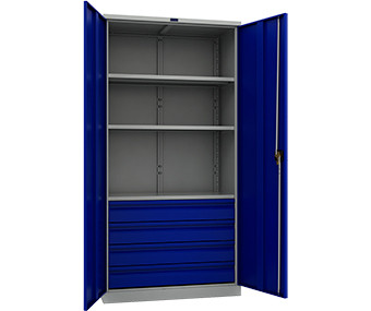 Шкаф инструментальный металлический ТС-1995-003040 (1900х950х500 мм)
