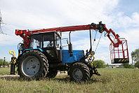 Автовышка-манипулятор на базе трактора МТЗ, фото 1
