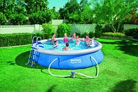Круглый надувной бассейн Bwstway 57280 Fast Set Pool