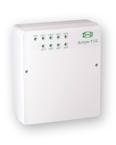 Астра-712/8 Прибор приемно-контрольный охранно-пожарный ППКОП 01101349