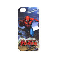 Чехол для телефона, Disney, IPH57211, Apple iPhone 5se, Серия SPIDER MAN, 3D, Синий