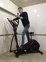 Эллиптический тренажер с сиденьем GF-120 до 130 кг, фото 2