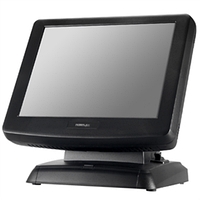 Сенсорный терминал Posiflex KS-7215G (15'', Black, SSD, 2Gb RAM, Gen 5 base stand) + PosReady7
