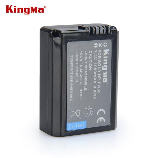 NP-FW50. Аккумулятор KingMa для фото/видео Sony
