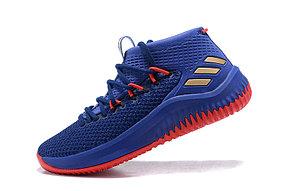 """Баскетбольные кроссовки Adidas Dame IV (4) from Damian Lillard """"Blue"""""""