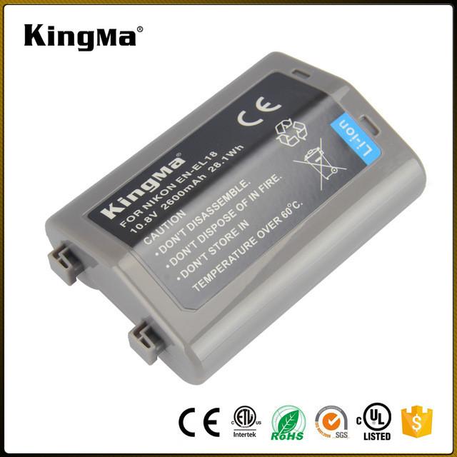 EN-EL18. Аккумулятор KingMa для фото/видео Nikon