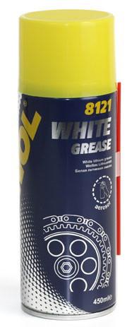 MANNOL WHITE GREASE (аэрозольная белая смазка)