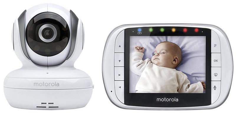 Видеоняня Motorola MBP36S (белый цвет)