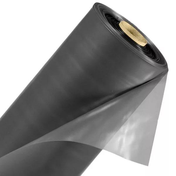 ПЛЕНКА полиэтиленовая 200 мкр  2,5м * 50м черная