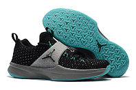 "Кроссовки Air Jordan Trainer 2 Flyknit ""Black/Grey/Mint Green"" (40-46), фото 1"