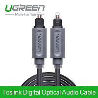 Кабель Audio(m) TOSLINK, 3m (оптический аудиокабель) UGREEN