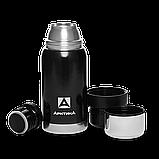 Термос бытовой, вакуумный для напитков тм Арктика 500 мл. черный, фото 2