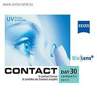 Zeiss Contact Day 30 Compatic Toric, 6 шт