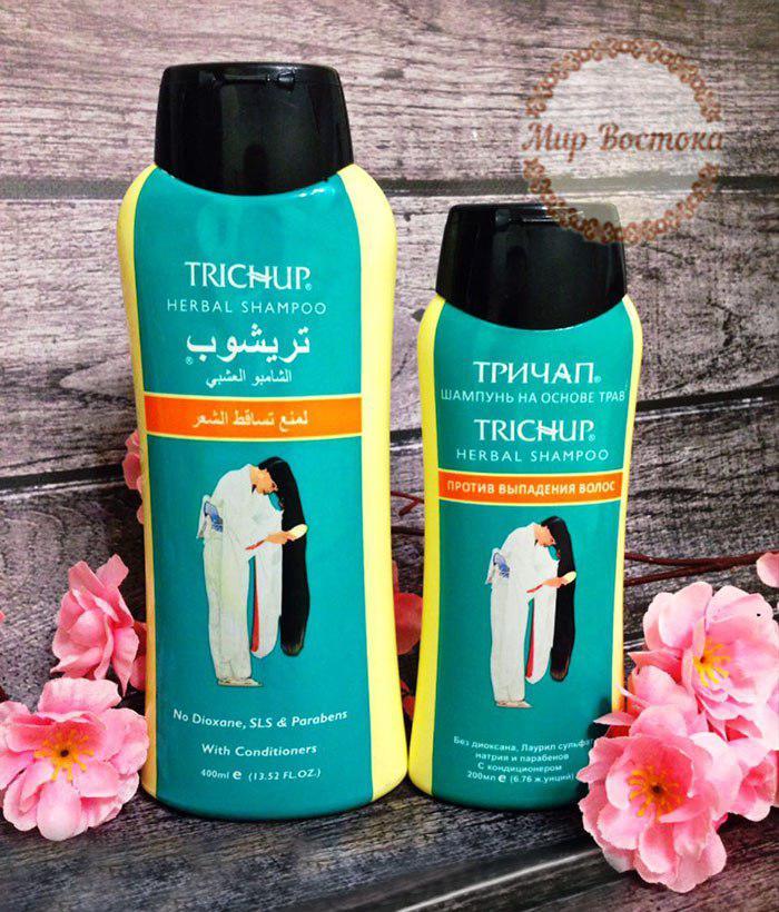 Тричап шампунь от выпадения волос Trichup (Тричуп 400мл)
