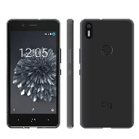 Чехол BQ Aquaris X5 Plus Black Gummy