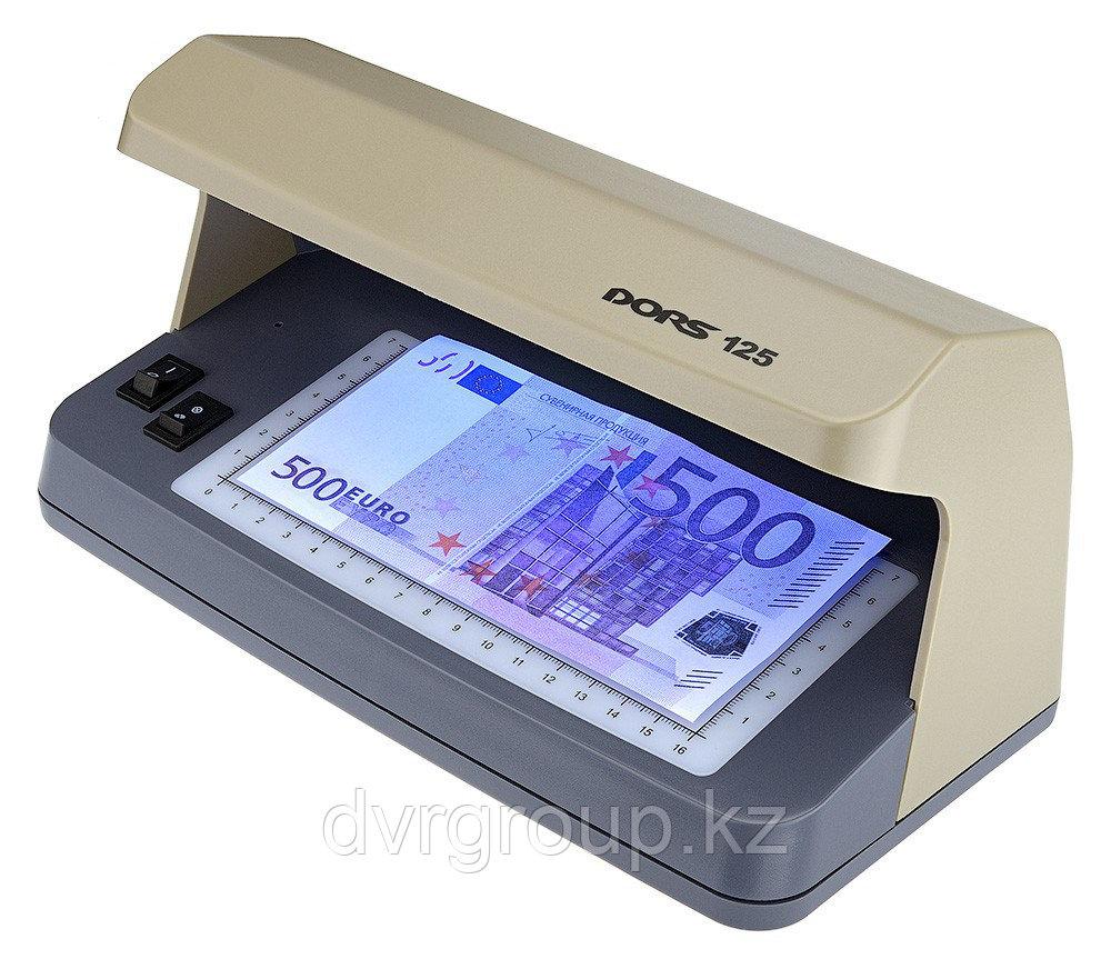Детектор банкнот DORS 125, ультрафиолетовый