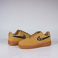 Кроссовки Nike Air Force Low Beige Black